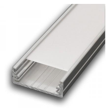 PREMIUMLUX Hliníkový profil WIDE 2m pro LED pásky